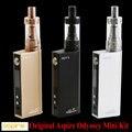 100% original aspire odyssey mini kit con pegasus mini 50 w 18650 triton mini atomizador mod starter kit de cigarrillo electrónico