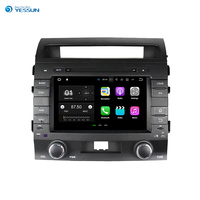 YESSUN Android For Toyota Land Cruiser 2008~2012 Car Navigation GPS Audio Video Stereo Touch Screen Multimedia Player.