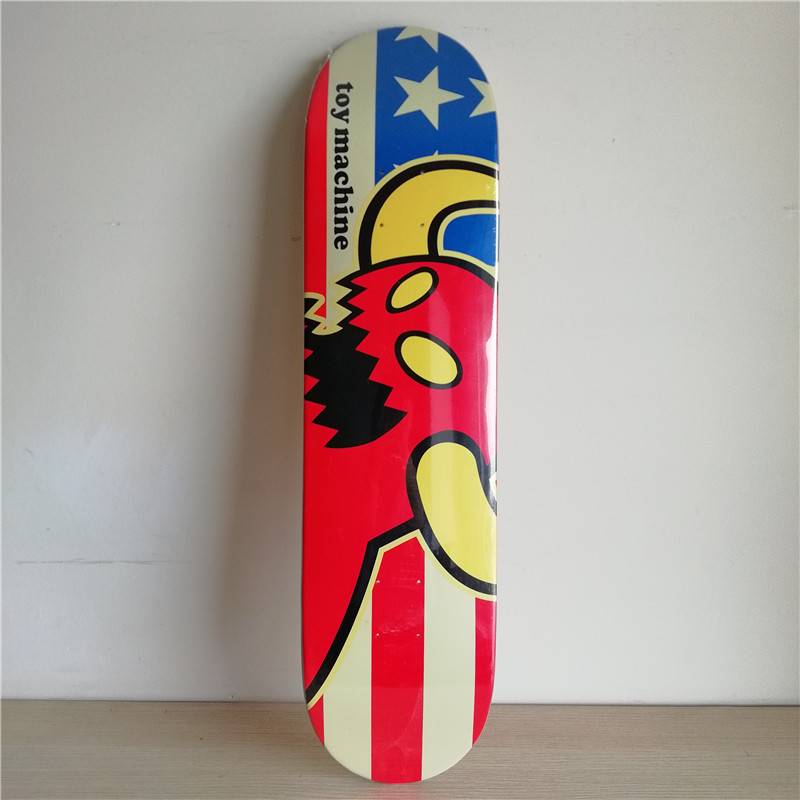 8 inch Quality TY skateboarding Decks Colorful pattern made by Canadian Maple Wood Shape Skateboard deck for pro SK8ER new arrival graphics skateboard decks with 7 875 8 8 125 8 25 made by canadian maple us skateboarding deck for skaters