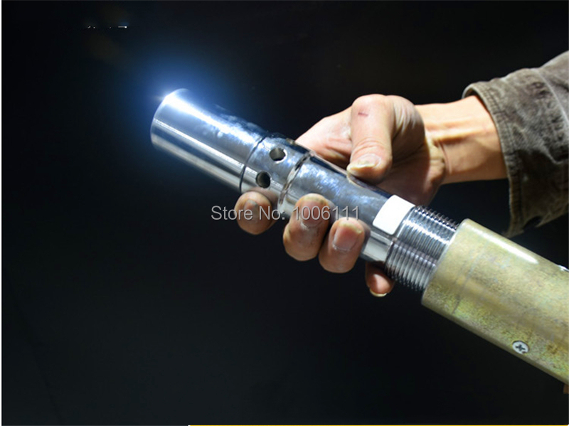 6mm/8mm/10mm/12mm Double Air-inlet Venturi Nozzle, Silicone Carbide Blasting Gun Nozzle, Sandblasting Spray Gun Nozzle