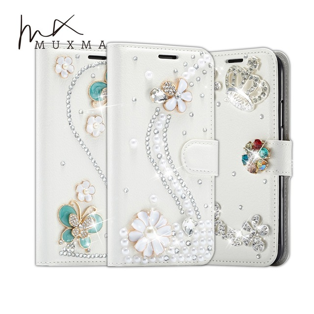 new concept 8be9e 09c43 US $9.99 |Rhinestone For Samsung Galaxy A8 Plus A8+ 2018 A730F Case Glitter  Diamond Leather Cover Strass Fundas Flip Wallet Phone Case-in Rhinestone ...