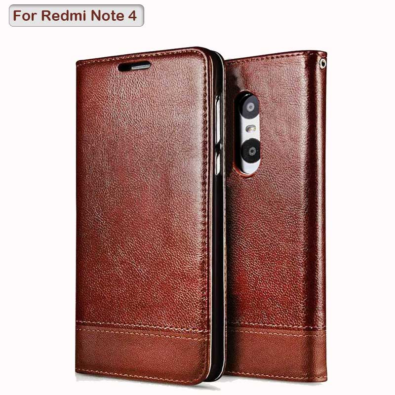 For Xiaomi Redmi Note 4X Case PU leather Flip Cover Luxury Wallet Magnetic Phone Bags Cases