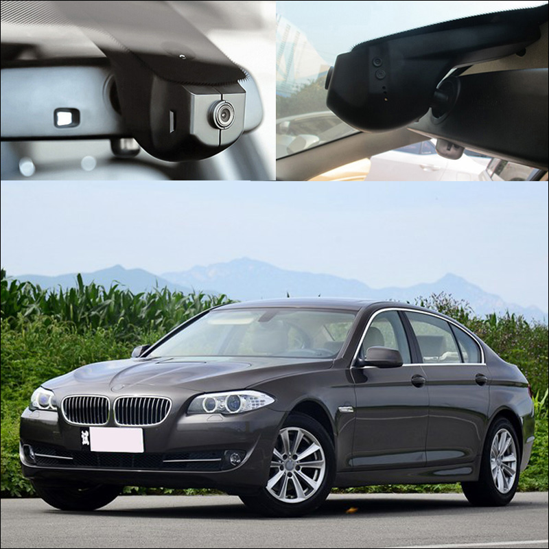 BigBigRoad Pour BMW 5 série 528i 535i 550i 525li f10 e60 e39 e34 gt 520d 530d 525 wifi Voiture DVR Vidéo Enregistreur dashcam noir boîte