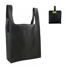 Washable And Environmentally Friendly Storage Bag Reusable Folding Tote Outdoor Shopping Oxford