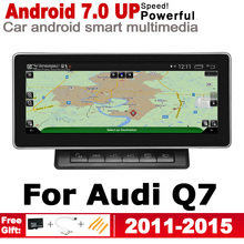 Android 7.0 up IPS Car Radio DVD Player For Audi Q7 4L 2011~2015 MMI Original Style Autoradio GPS Navigation HD Touch Screen