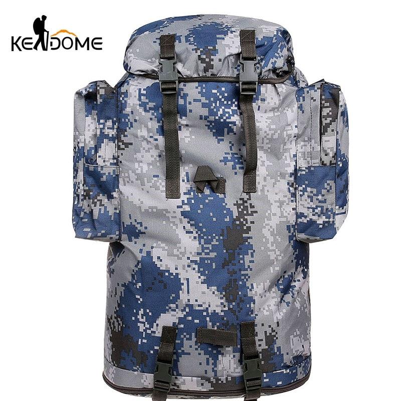 Outdoor Sports Backpack 70L Bags Waterproof Bag Travel Hiking Hunting Trekking Camping Tactical Climbing Mochila Deporte XA197WD