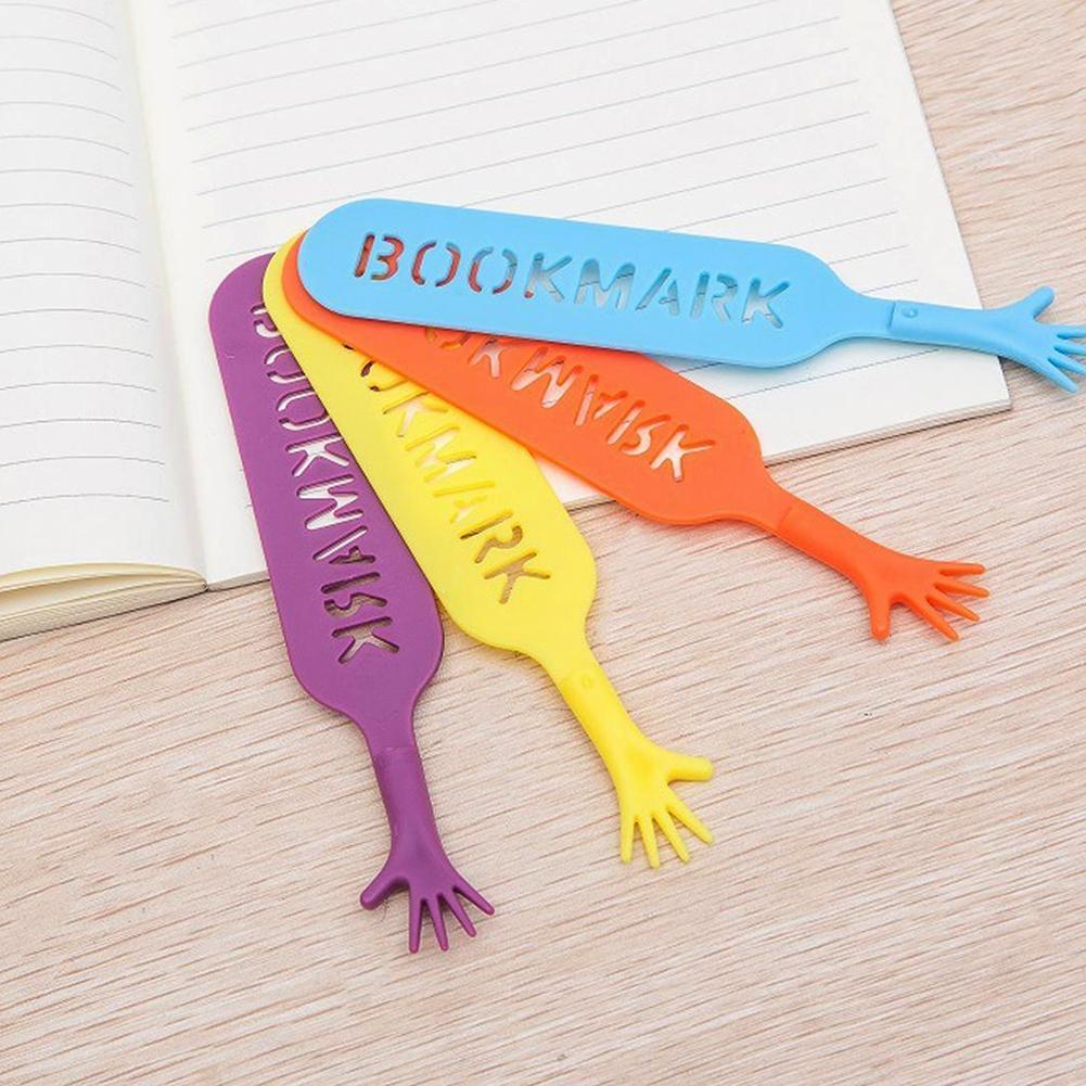 1Set/4pcs Creative Gadget Note Pad Memo Stationery BOOK MARK Help Me Novelty Bookmark Bookworm Gift Stationery