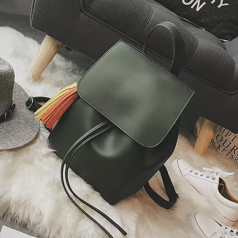 pu mulheres sacolas de moda Color : Black, gray, brown, green
