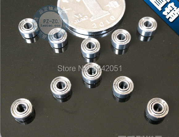 10pcs R4-2rs Ball Bearing 6.35*15.875*4.978 Mm Deep Groove Ball Bearing