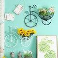 Бесплатная доставка! Металлическая коробка для хранения цветов в форме велосипеда