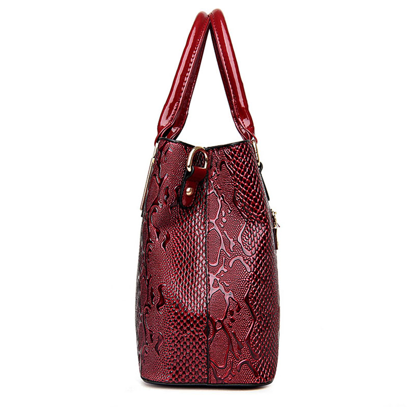 Нова мода PU кожа жените чанта дами - Дамски чанти - Снимка 4