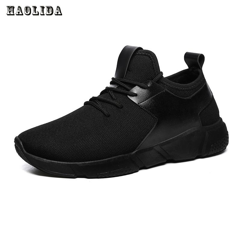 2017 New Fashion Casual Shoes For Men Light Breathable Cheap Lace-up Man Winter Warm Shoes With Fur Snow Boots Keep Warm Boots casual color block lace up breathable sports shoes for men