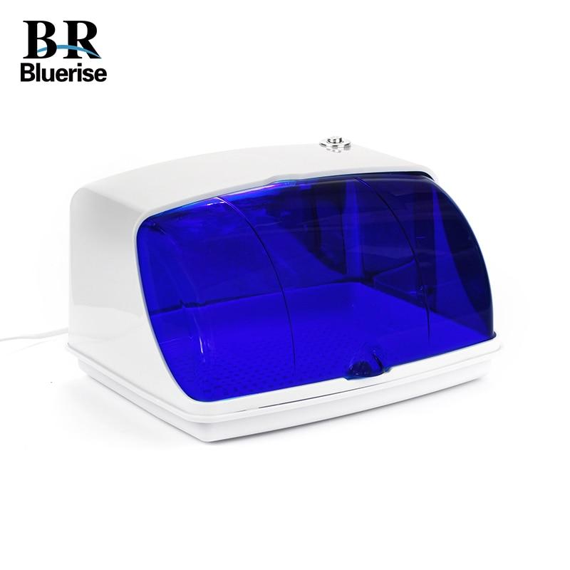 UV Sterilizer Professional Nail Art Disinfection Clean Nail Art Equipment Tray Temperature Sterilizer Tool 220V EU