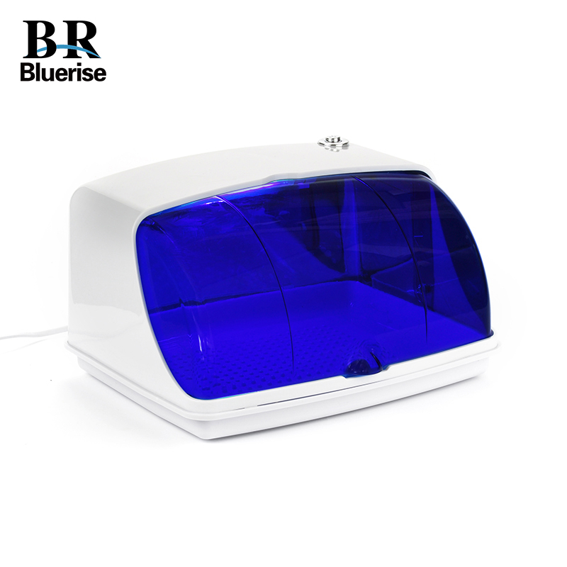Esterilizador UV Profissional Da Arte Do Prego Desinfecção & Limpo Nail Art Equipamentos Bandeja Esterilizador de Temperatura Ferramenta 220 V Plugue DA UE 9003