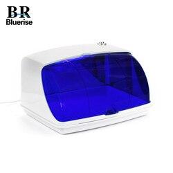 BLUERUSE مسمار UV صندوق تعقيم الأجهزة المنزلية المهنية صالون LED أدوات التطهير تنظيف أدوات تجميل الأظافر