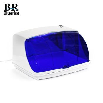 BLUERUSE Nail UV Sterilizer Box Professional Home Appliances Salon LED DisinfectionTools Cleaning Beauty tools Nail Equipment цена 2017