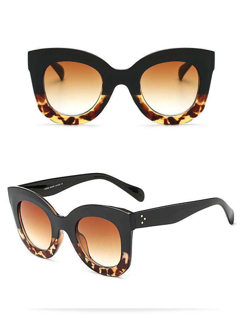 Luxury Vintage Cat Eye Sunglasses Women Brand Designer Female Sunglass Points Sun Glasses For Women Lady Sunglass Oculos De Sol (13)