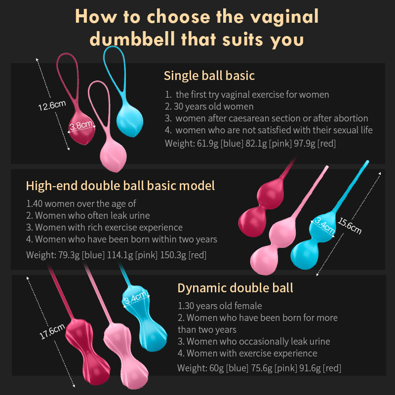 Image 4 - Satisfyer Safe Silicone Smart Ball Kegel Ball Ben Wa Ball Vagina Tighten Exercise Machine Vaginal Geisha Ball Sex Toys for WomenVagina Balls   -