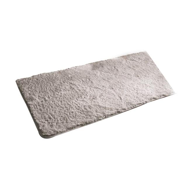 EHOMEBUY Rug Long Plush Absorbent Carpets Kitchen Bathroom Rugs   Machine  Washable Bathroom Carpet