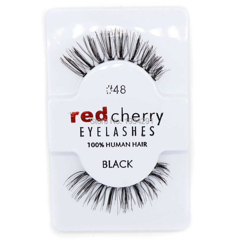 Cherry Eyelash Human Hair Eyelashes48118522747s102 In False
