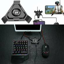 Baru Pubg Mobile Gamepad Controller Gaming Keyboard Mouse Converter untuk Ios iPhone Android untuk PC Bluetooth Adaptor Steker dan Bermain(China)