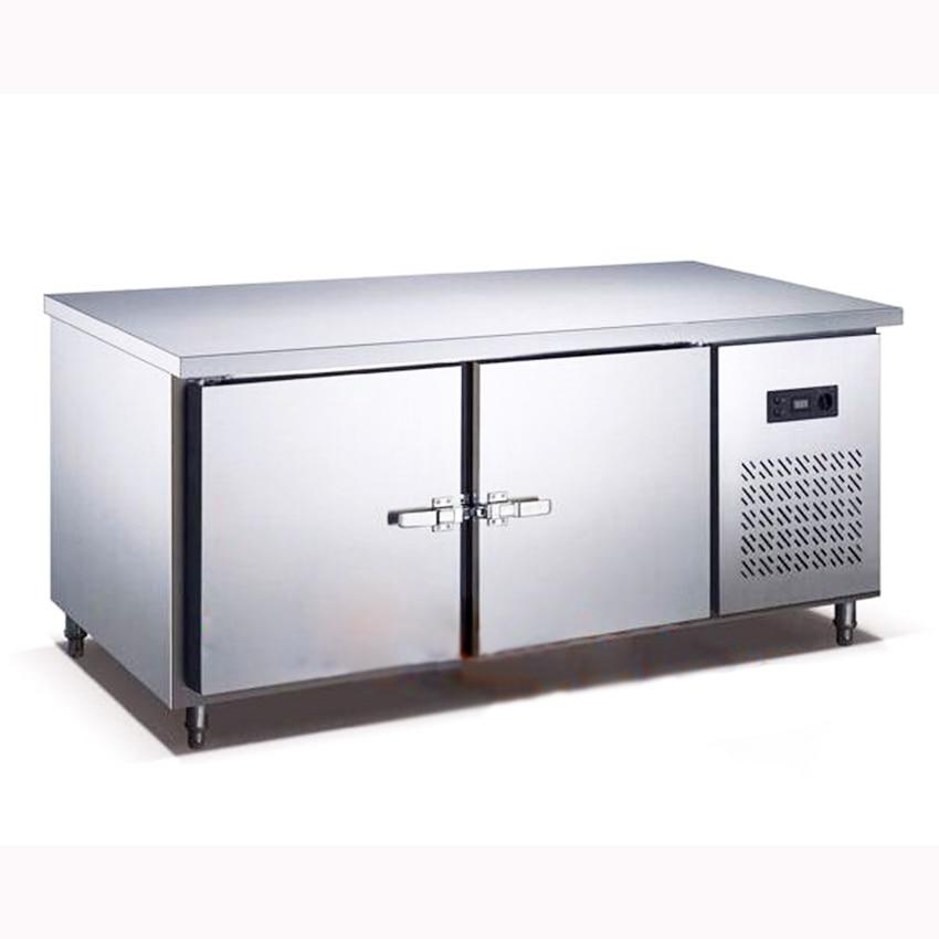 250L Kitchen Stainless Steel Under Counter Refrigerator Wardrobe ...