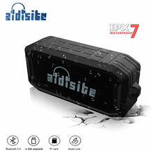 Aidisite Portable Bluetooth Speaker IPX7 Waterproof Wireless Outdoor Stereo Sound V5.0 Loudspeaker