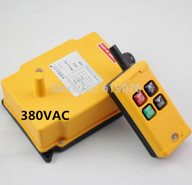HS 4 380VAC 4 Channels Hoist Crane Radio Remote Control System