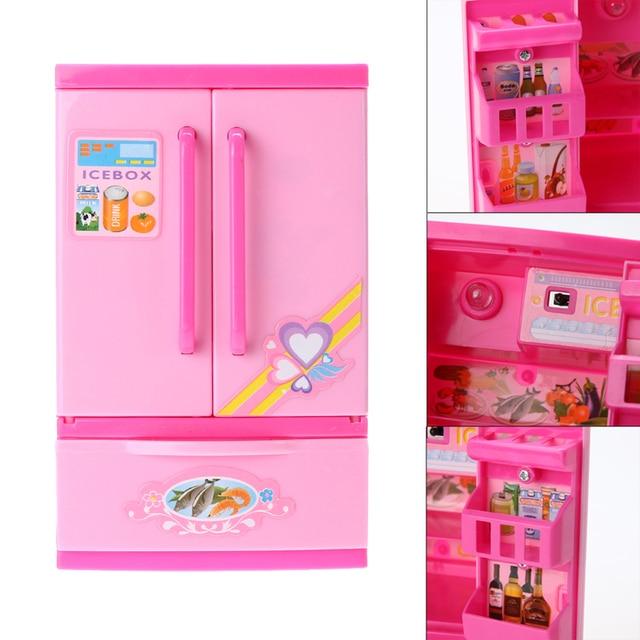 Schöne Kinder Mädchen Spielzeug Kühlschrank Küche Pretend Spielen ...