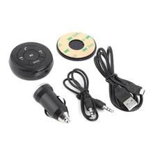 3.5mm AUX Audio Música Adaptador Del Receptor Inalámbrico Bluetooth A2DP Streaming de Coche Manos Libres con Micrófono Para El Teléfono MP3 con el coche cargador
