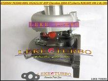 Free Ship GT2056V 763360-0001 763360 763360-5001S 35242112G Turbo Turbocharger For Jeep Cherokee 04- Liberty R2816K5 VM 2.8L CRD