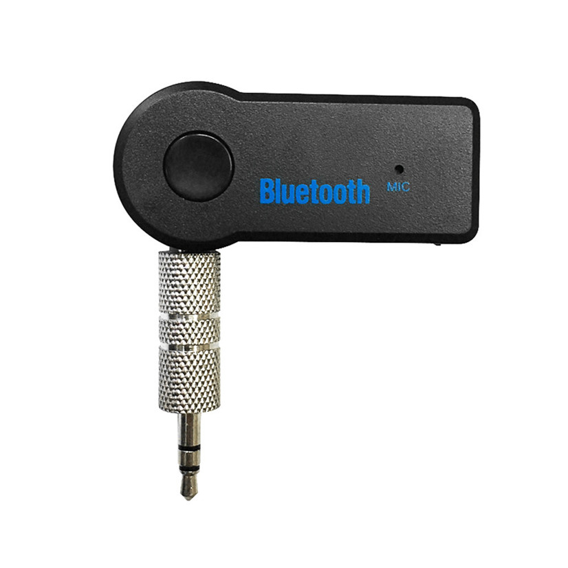 Factory Price Hot Details About Wireless Bluetooth 3.5mm AUX Audio Stereo Music Home Car Receiver Adapter Mic Drop Shipping