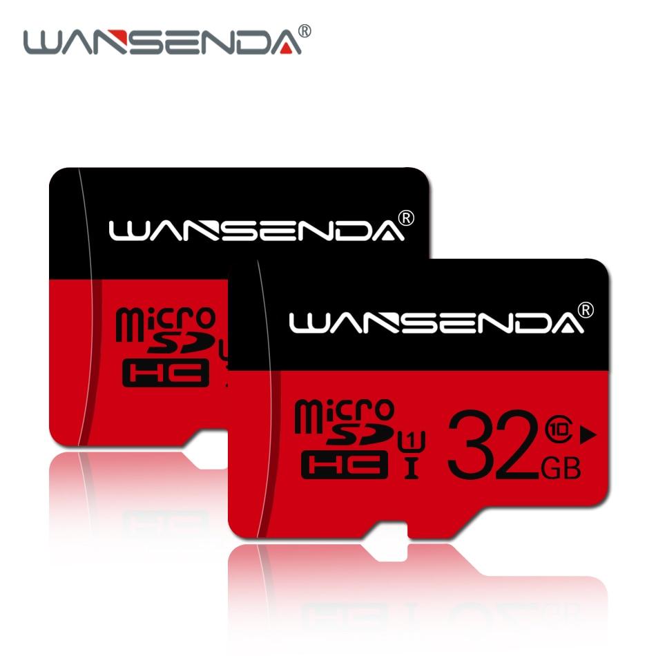 WANSENDA New Micro Sd Card 4GB 8GB 16GB 32GB 64GB 128GB Memory Card TF Card With Free Card Adapter For Smartphone/tablet