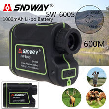 Free shipping!SNDWAY Distance Laser 600M Finder Outdoor Golf Rangefinder Meter Speed Measurer