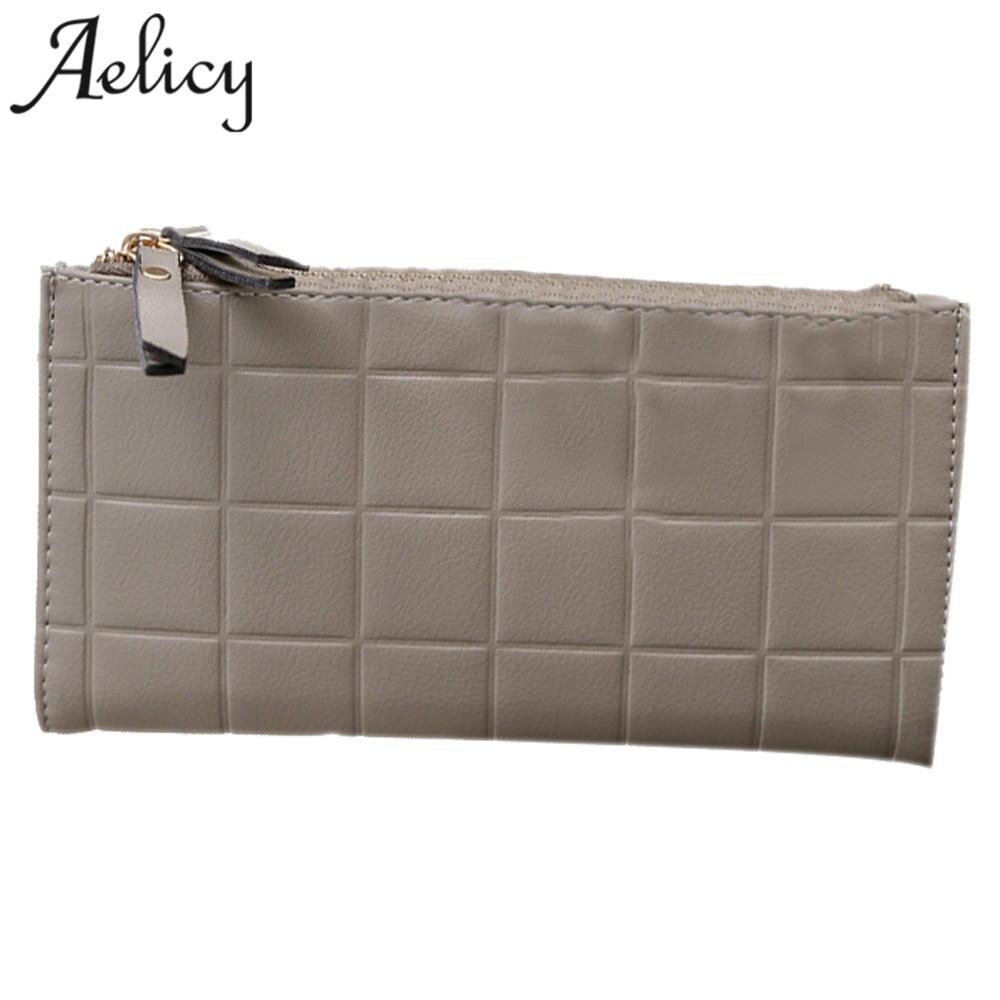 где купить Aelicy Luxury Female Wallet Women Long Wallets Ladies PU Leather Zipper Purse Card Holders Clutch Money Bage Carteira Feminina по лучшей цене