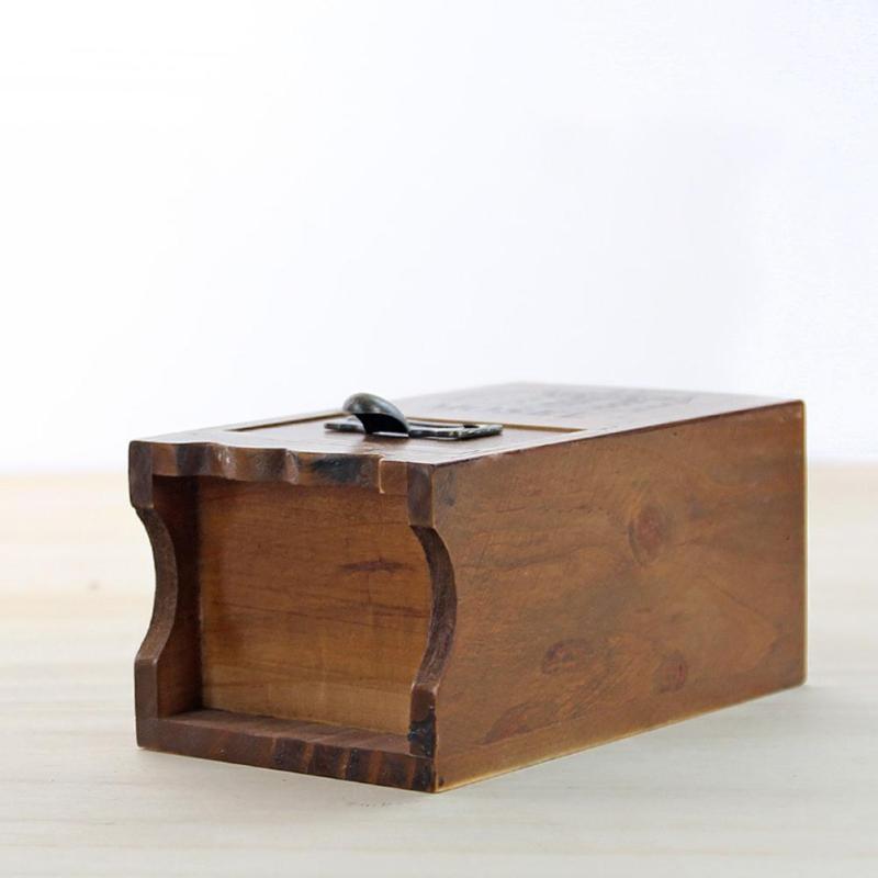 Desktop Holz Dekorative Vorratsbehälter Boxen Bleistift Vase Schmuck ...