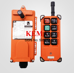 F21-E1B Wireless Radio Remote Control industrial remote control hoist crane push button switch(1 transmitter and 1 receiver)