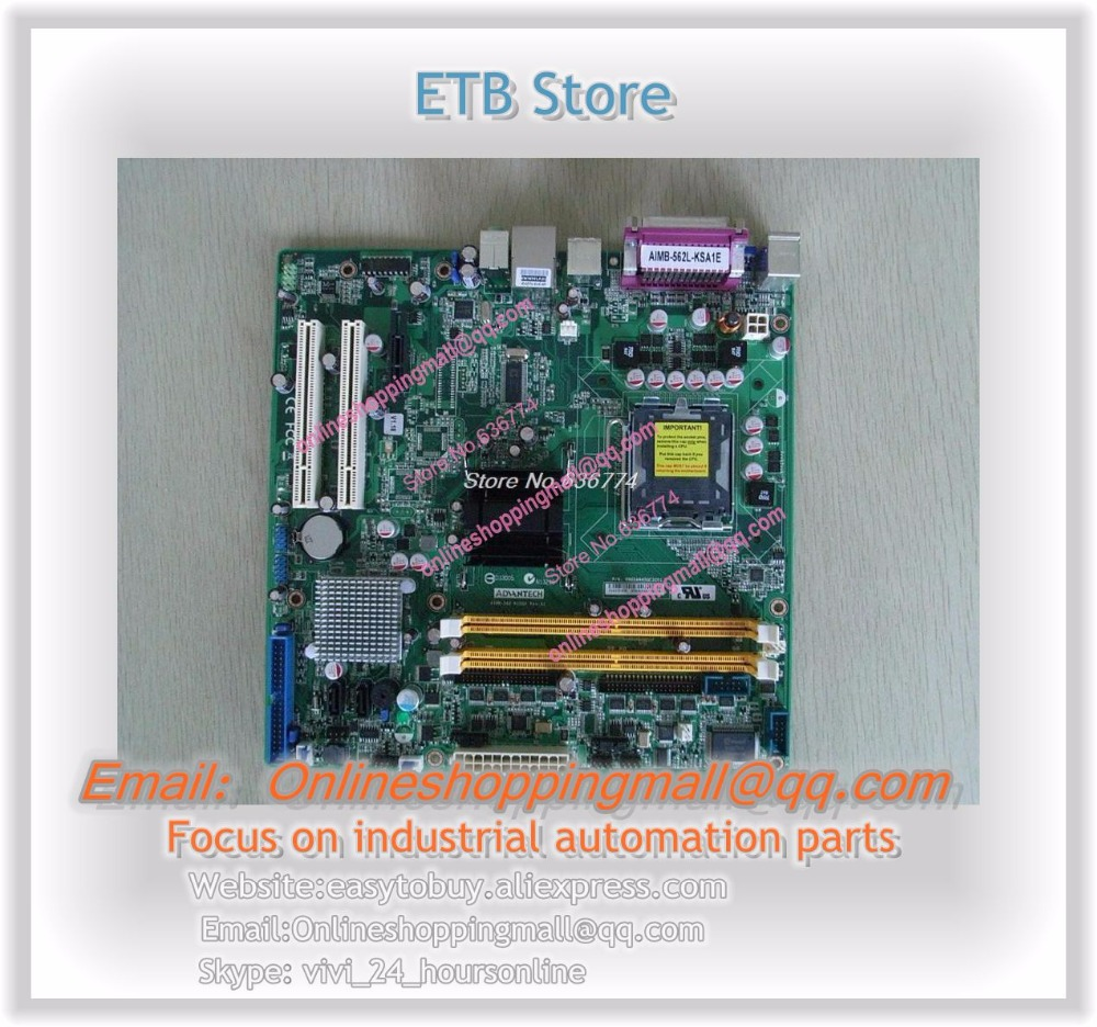 Industrial motherboard MicroATX Board AIMB-562L-KSA1E Serial 10*COM m945m2 945gm 479 motherboard 4com serial board cm1 2 g mini itx industrial motherboard 100