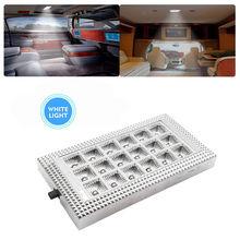 Светодио дный 12 В в 18 LED Интерьер Потолок Кабины Свет для Караван Автобус Camper лодка свет лампы 3 Вт