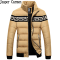 Бесплатная доставка Новый Зимний Тонкий Утка Пуховик Пальто с подставкой Воротник для Мужчин размер M-XXXL 165hfx