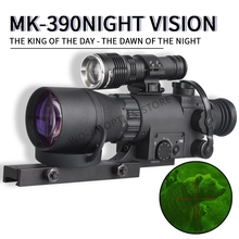 MK 390 4X  Digital Infrared Night Vision Goggle Monocular 200m Range Video DVR Imagers for Hunting Camera Device