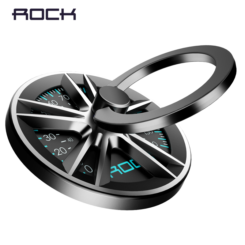ROCK 360 Degree Finger Ring Holder Metal Smartphone Mobile Phone Hand Spinner Stand Holder For IPhone Ipad Samsung Table