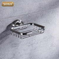 Free Shipping Bathroom Accessories Product Solid Brass Copper Chrome Soap Basket Soap Dish Holder Soap Box