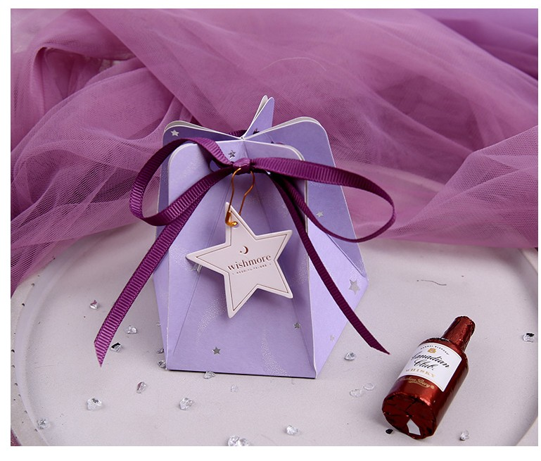 Free Shipping 50pcs Wedding Favor And Gifts Luxury Star