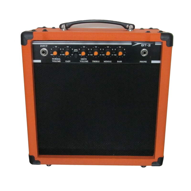 Large Electric Guitar Amp : 20 watts transistor electric guitar amp combo 8 inch gain control headphone jack guitar ~ Russianpoet.info Haus und Dekorationen