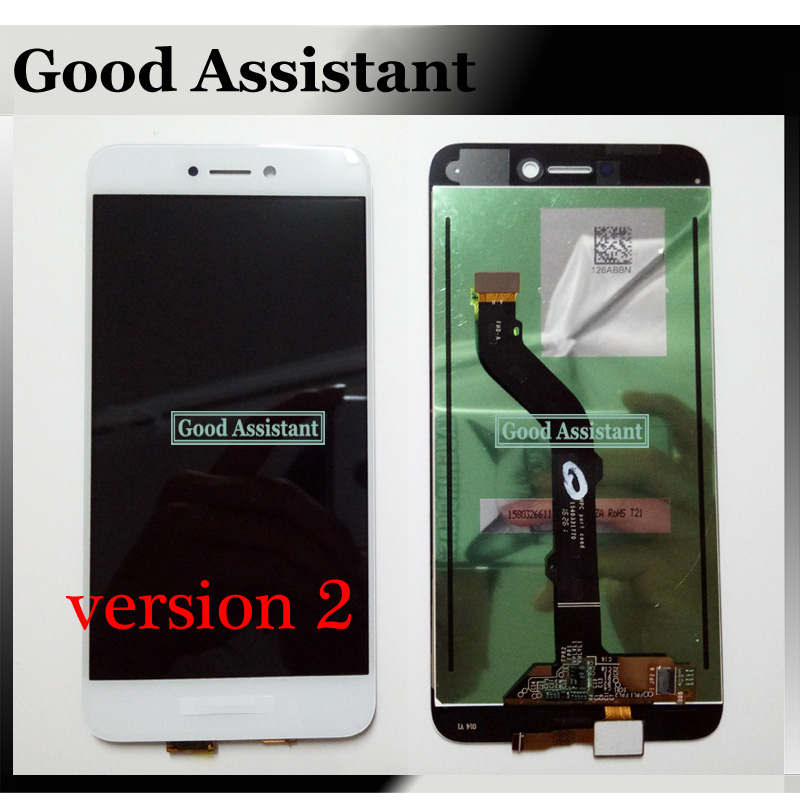 Image 4 - High Quality Black/White/Gold 5.0 inch For Huawei GR3 2017 LCD Display + Touch Screen Digitizer Assembly Replacement Version 2-in Mobile Phone LCD Screens from Cellphones & Telecommunications on