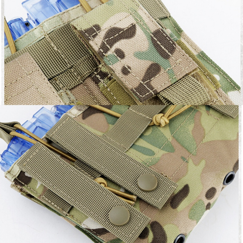 Image 5 - New 1000D Nylon Military Paintball Equipment Tactical Three Open Top Magazine Bag Fast AK M4 Famas Storage Bag-in Pouches from Sports & Entertainment