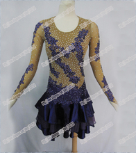 NEW!Latin dance dress,tango salsa samba dance dress, latin dance wear , cha-cha dance dress,FLESH COLOR,BEST QUALITY.