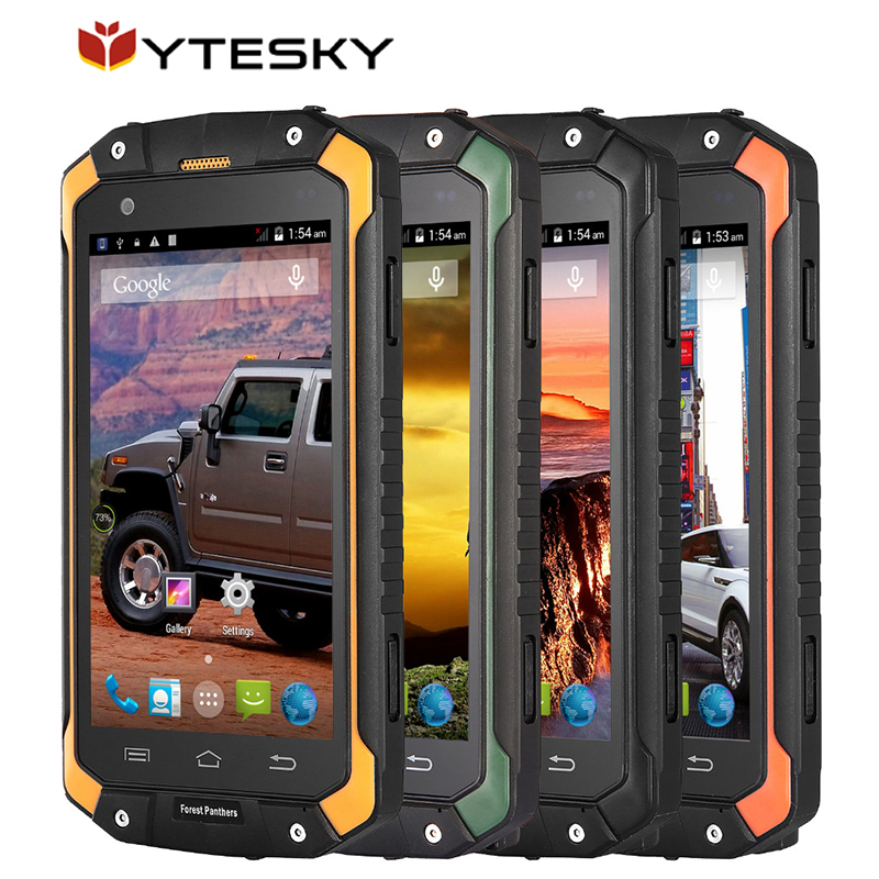 Original Forest Panthers NO1 Rugged Smartphones Android 4.4 MT6572 Dual  Core 3G 512MB RAM 4GB ROM