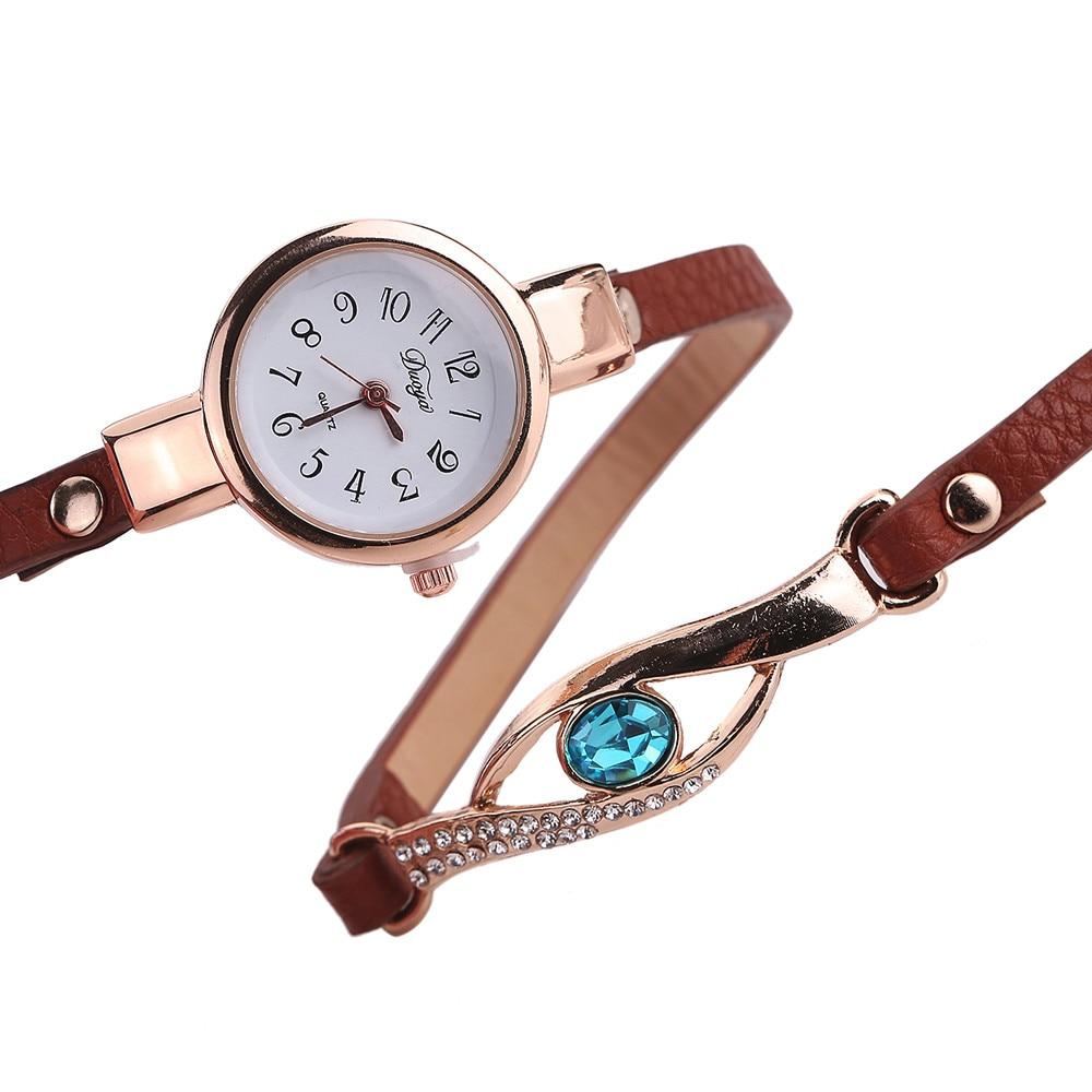Ladies Bracelet Watch - brown